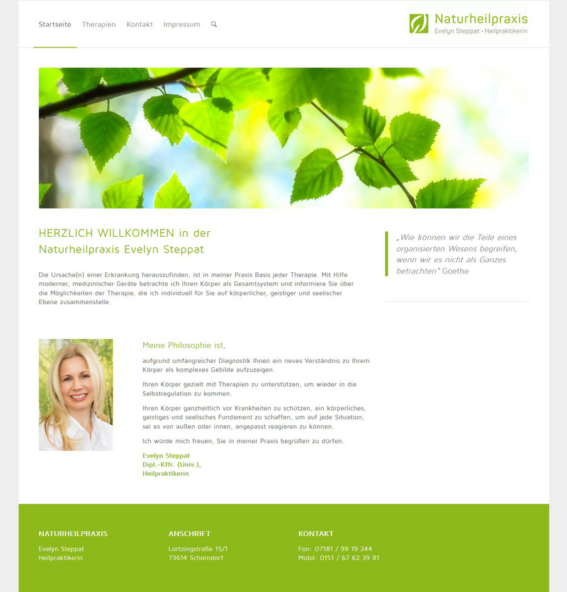 Webdesign mit WordPress