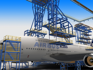 Dürr A380 3D-Animation